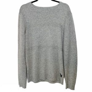 Globe Men's Byrd II Grey Wool Blend Sweater